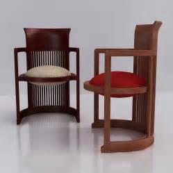 Frank Lloyd Wright Barrel Chair 3d Frank Lloyd Wright Barrel Chair High Quality 3d Models