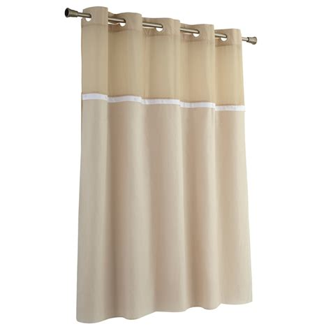 shower curtains hookless shop hookless eva peva frosty white solid shower liner at