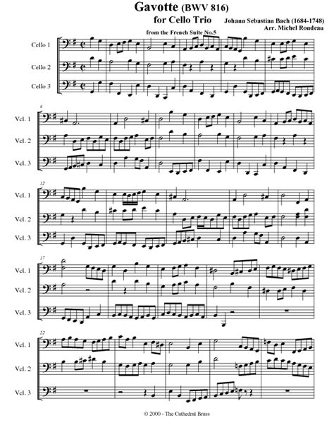 gavotte song in the musical based on george bernard shaws pygmalion and the 1964 film adaptation of the same name gavotte from french suite no 5 bwv 816 cello
