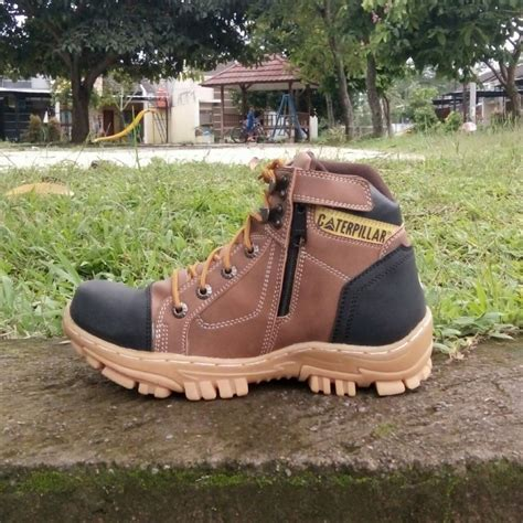 Sepatu Timberlade Oxwood Boots Safety Premium Quality jual sepatu boots pria safety caterpillar marvel bahan