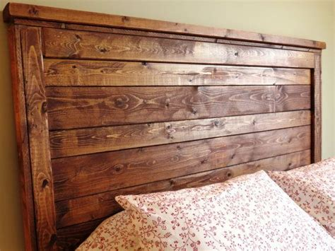 Rustic Wood Headboards by Rustic Distressed Wood Headboard Made To Order