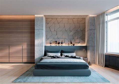 Concrete Wall Designs 30 Striking Bedrooms That Use Designs For Walls In Bedrooms