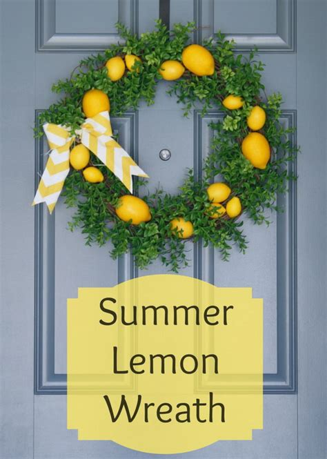 beautiful summer wreath tutorials  ideas hative