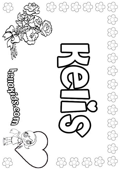 kelis coloring pages hellokids com