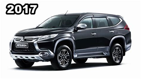 mitsubishi pajero sport 2017 black 2016 2017 mitsubishi pajero sport accessories review