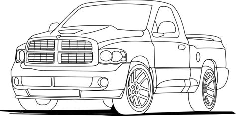 coloring page ups truck coloring page pick up truck coloring pages for free