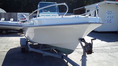 center console fishing boats for sale uk flying fox fish sport boat for sale in cornwall in st