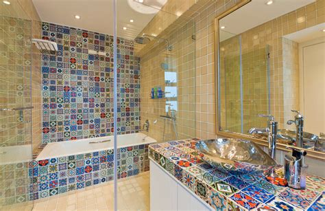 mexican tile bathroom ideas tremendous mexican tile decorating ideas