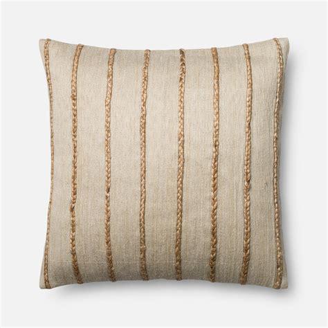 Jute Pillow by P0443 Jute Pillow Antiquity