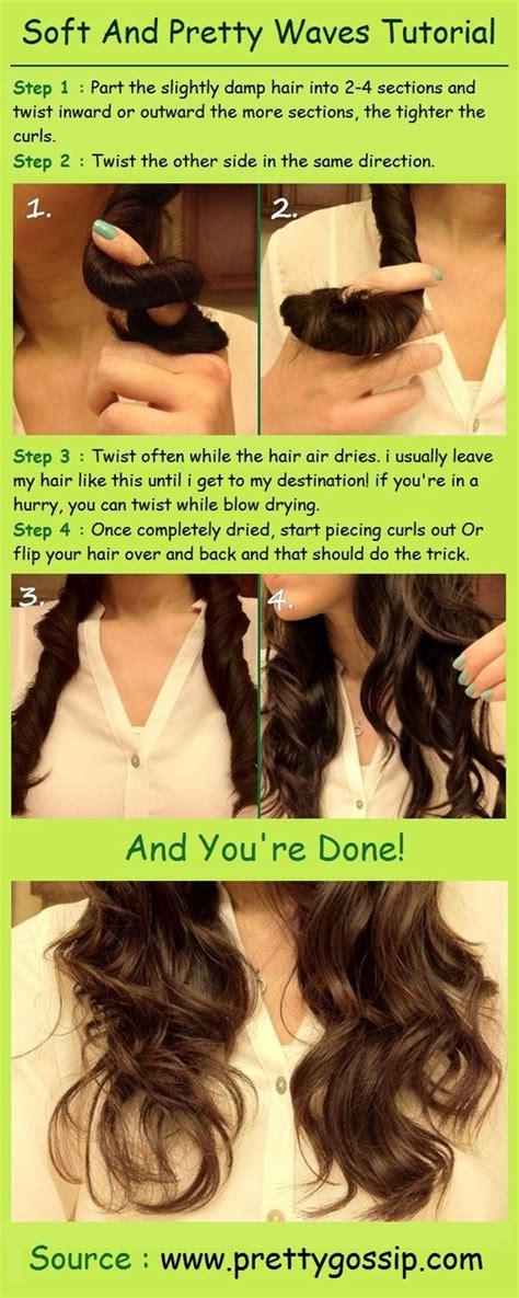easy hairstyles method best 20 easy waves ideas on pinterest