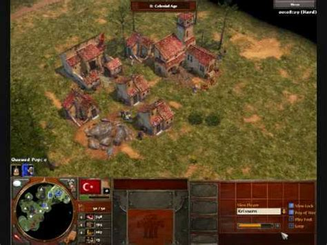rush otomano age of empires 3 age of empires 3 ottoman rush youtube