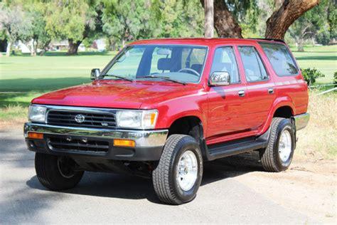 1992 toyota 4runner 4x4 one owner 1992 toyota 4runner sr5 4x4 suv for sale