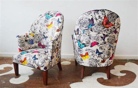 butterly garden tissu ameublement chaise fauteuil canape