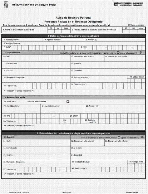 afil 02 formato alta imss ppt formato afil 01 imss pdf zip