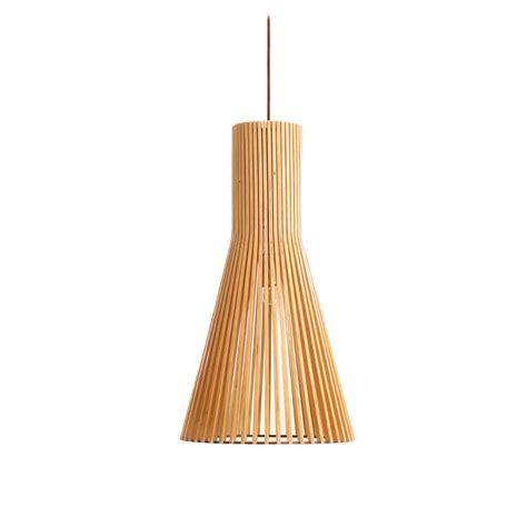 Flute 250 Wooden Pendant Light ? P1038FLUTE250 LED Lighting Bargains