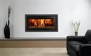 Parisian Interiors Studio Profil Inset Wood Burning Fires Stovax Fires