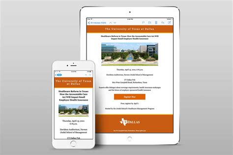 Templates Brand Standards The University Of Texas At Dallas Email Branding Templates