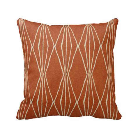Zippered Toss Pillow Covers by Orange Crush Zippered Throw Pillow Cover By Primal Vogue