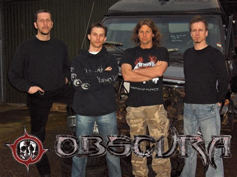 obscura band obscura announces the departure of guitarist and drummer