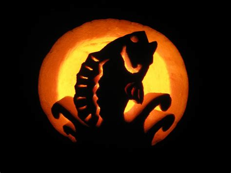 I Gear Original Water Resist 100m 15 quot fishing quot pumpkin carvings you to see to believe