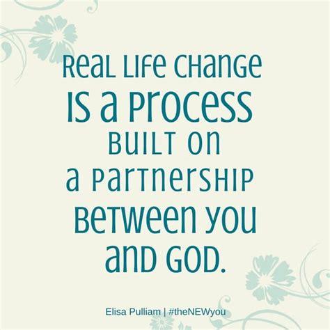 change   process built   partnership  god listen