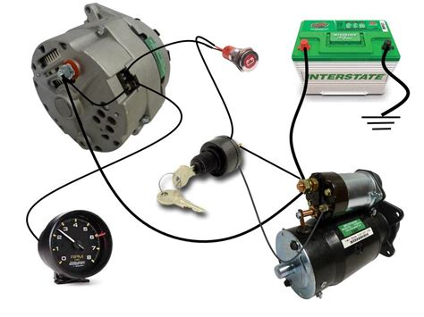 delco one wire alternator wiring diagram delco remy