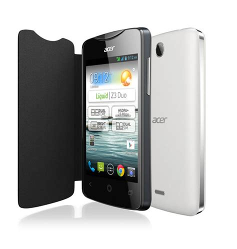 acer liquid z3 duo un t 233 l 233 phone abordable et complet
