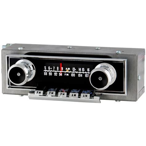 1963 ford galaxie radio with bluetooth oe replica 461101b