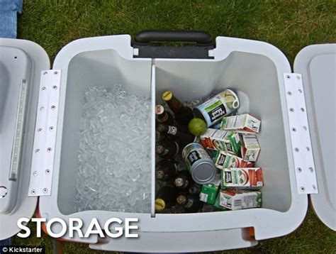 best ice cooler in the world coolest ice box contains a fridge a usb charger and even