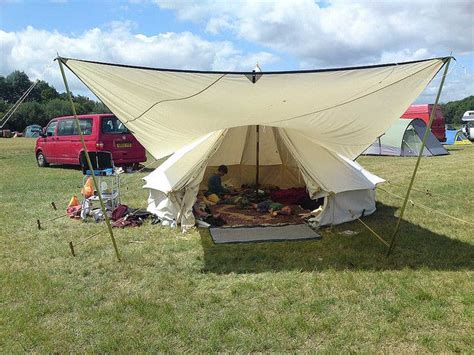 bell tent awning bell tent with awning cing pinterest