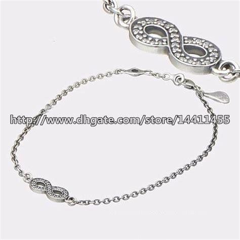 Pandora Symbol Of Infinity Clear Cz P 97 100 925 sterling silver symbol of infinity bracelet with clear cz fits pandora style jewelry