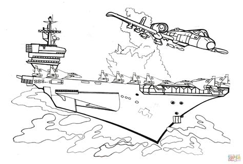 battleship crashed coloring page free printable coloring