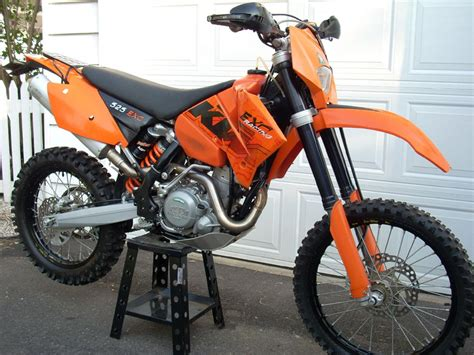 Ktm 525 Exc 2003 2003 Ktm 525 Exc Racing Pics Specs And Information