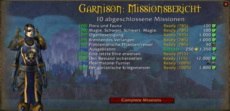 wann kommt warlords of draenor world of warcraft add ons f 252 r die garnison