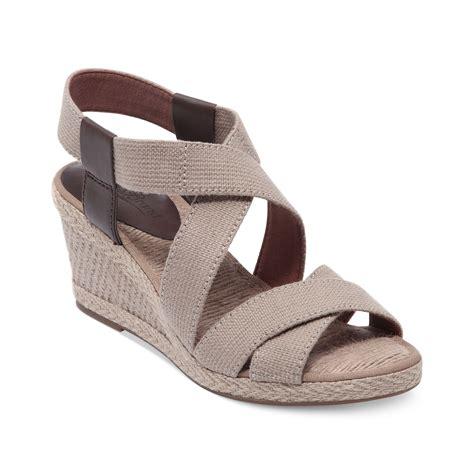 lucky brand sandals lucky brand keane platform wedge sandals in beige khaki