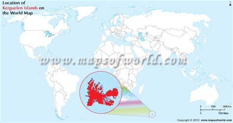 Where is Kerguelen Islands, Kerguelen Islands Location on world Map