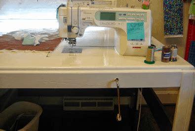 artful diy sewing table plans