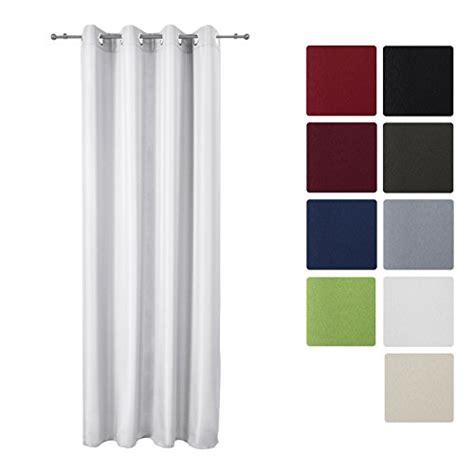curtains 145 cm drop beautissu opaque eyelet curtain amelie 140 cm 175 cm drop