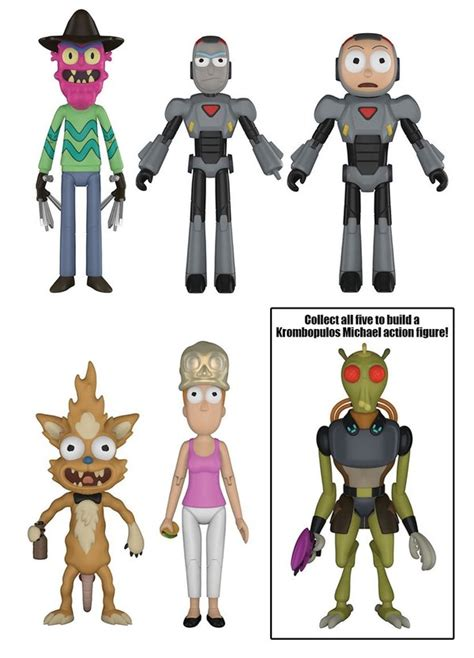 Figure Seri 2 rick and morty 5 quot series 2 figures from funko