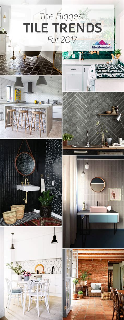 tile trends 2017 2017 tile trends the experts predict what s next tile mountain