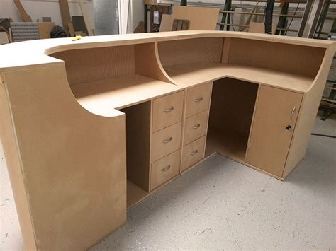 how to build a curved reception desk ebay
