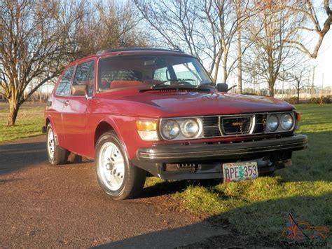 1978 saab 99 turbo hatchback 2 door 2 0l