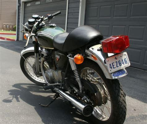 my 1973 honda cb350 project 1973 honda cb350 cafe project original parts no reserve