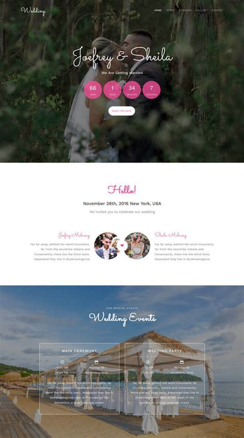 Free Event Bootstrap Template List of Best Quality HTML5