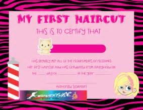 haircut certificate template haircut certificate template bestsellerbookdb