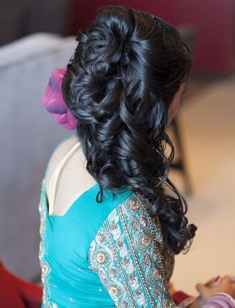 half up half down indian hairstyles 10 best indian wedding hairstyles for long hair style samba