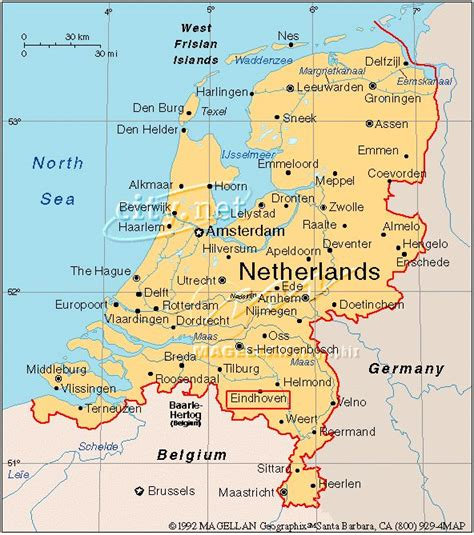 netherlands interactive map map
