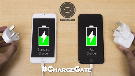 iphone 7 plus battery charging test vs charger chargegate