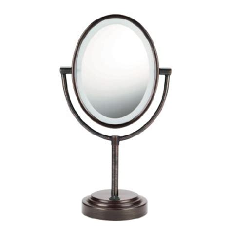 conair led lighted mirror brightest lighted makeup mirror iron blog