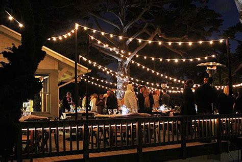 Cafe String Lights Outdoor Give Social Gatherings A String Cafe Lights